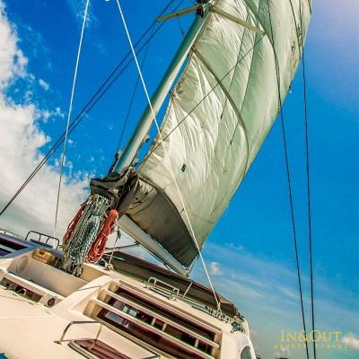 hey racha Island catamaran